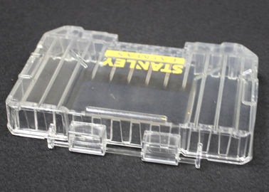 High Polished PMMA Machining Transparent Service Cover Parts Clear Color